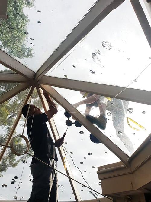 optimum window door glass replacement installation (15)