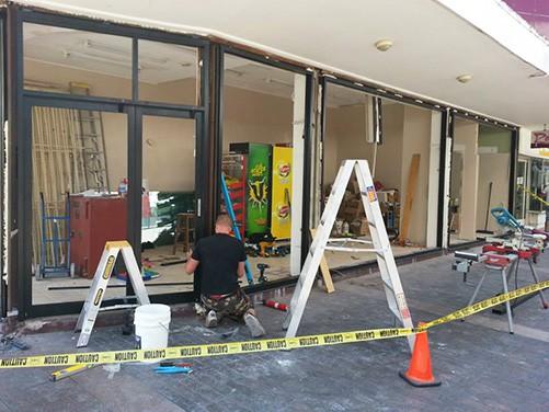 optimum window door glass replacement installation (5)